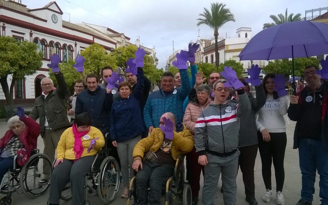 Ajudisle participa en la Marcha contra la Violencia de Género